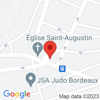 Place de l'église St Augustin - Bordeaux