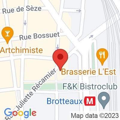 BlueLy - Rue Juliette Recamier