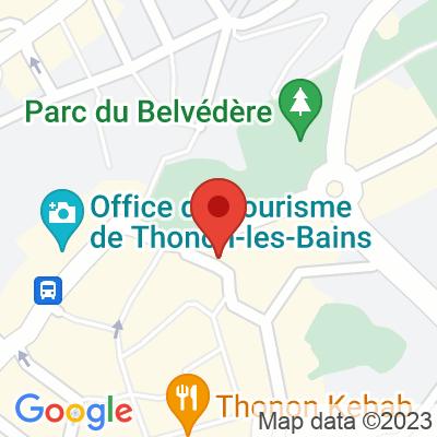 Place du Château - Belvédère