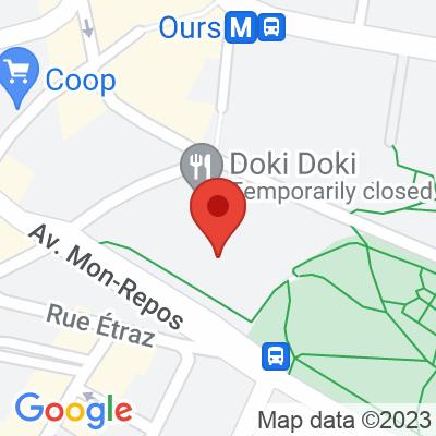 Parking Mon Repos Lausanne
