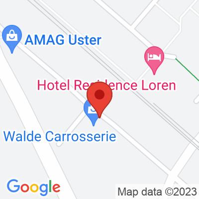 Energie Uster AG / Walde Carrosserie AG, in Uster Ackerstrasse 43