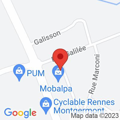 Parking ZA Decoparc - Montgermont