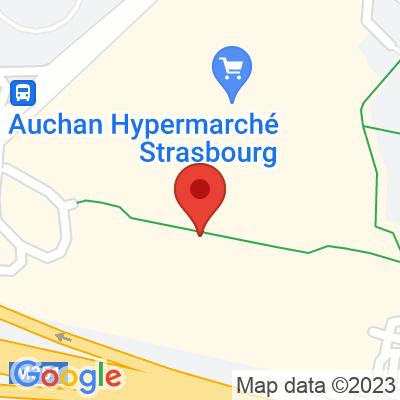 Centre commercial Auchan - Hautepierre