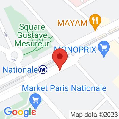 Belib - Boulevard Vincent Auriol
