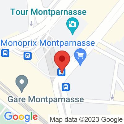 Parc souterrain Gare Montarnasse Océane