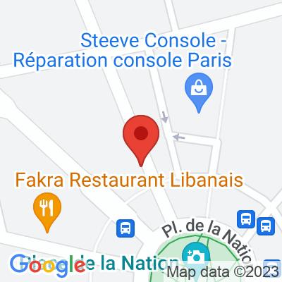 Autolib' - 3 avenue Philippe Auguste Paris