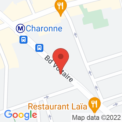 Belib - 206 boulevard  Voltaire Paris 11