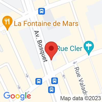 Belib - Avenue Bosquet Paris