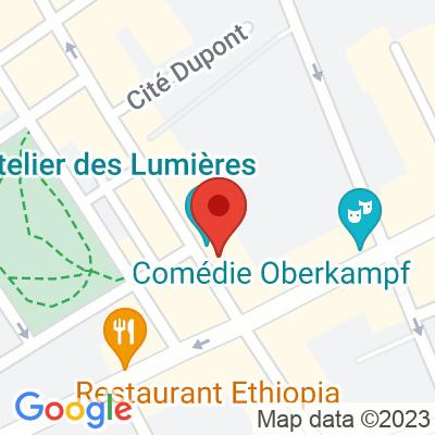 Autolib' - 36 rue Saint-Maur Paris
