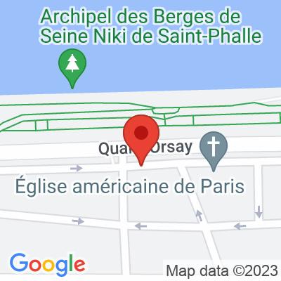 Parc de surface résidentiel Quai d'Orsay