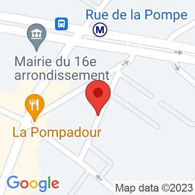 Rue Eugène Delacroix - Paris