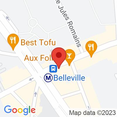 Belib - Rue de Belleville