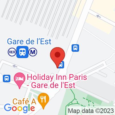 Gare de L'Est P2 Saint-Martin
