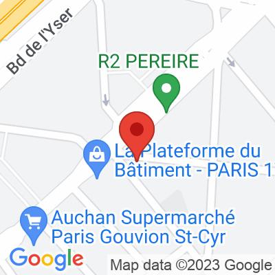Autolib' - 25 Rue Galvani Paris