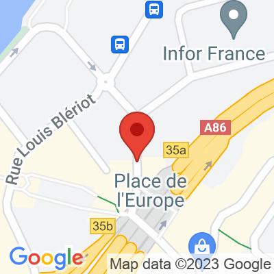 Autolib'  (places séparées) - 4 Rue Auguste Perret Rueil-Malmaison
