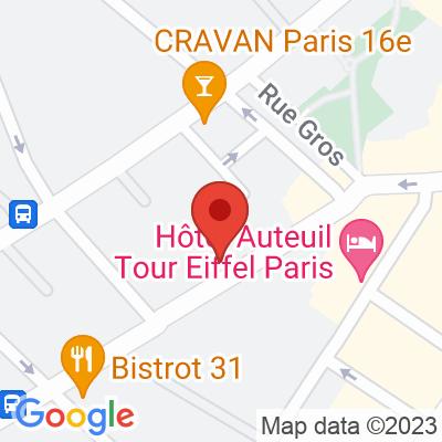 Autolib - 14 avenue Théophile Gauthier Paris
