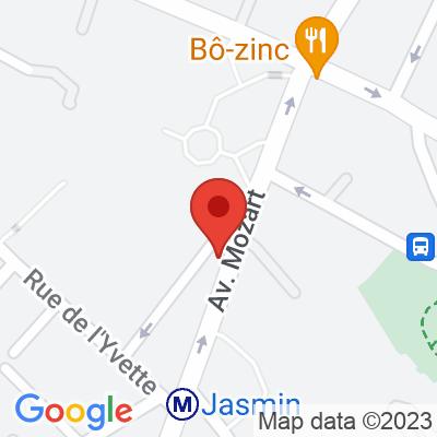 Autolib' - 68 avenue Mozart Paris