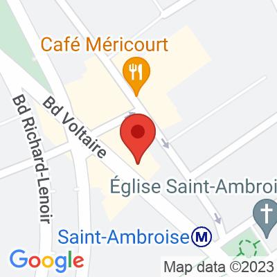 Autolib' - 59 Boulevard Voltaire Paris