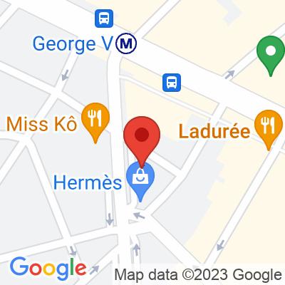 Autolib' - 44 Avenue George V Paris