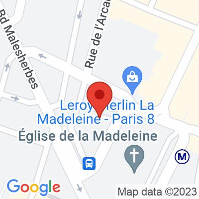 Autolib - 19 place de la Madeleine Paris