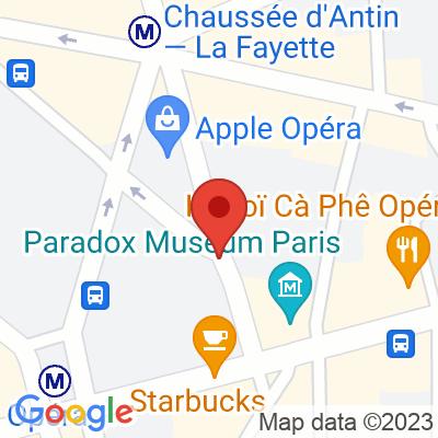 Autolib' - 5 Rue de la Chaussée d'Antin Paris