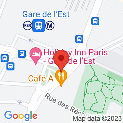 Belib Gare de l'est - Faubourg Saint Martin