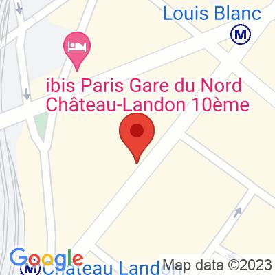 Autolib' - 203 Rue du Faubourg Saint-Martin Paris