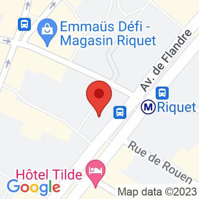 Autolib' - 61 Avenue de Flandre Paris