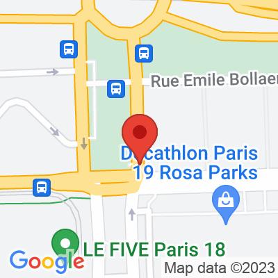 Autolib' - 10 avenue de la Porte d'Aubervilliers Paris