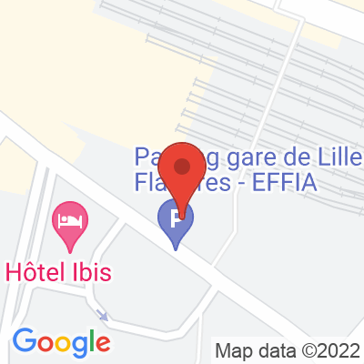 Gare Flandres - Parking EFFIA