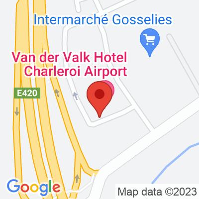 Van der Valk Hotel Charleroi Airport (Tesla et autres)