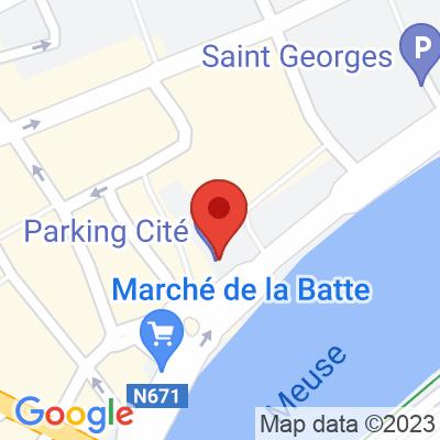 Parking Cité  interparking - La Batte Liège