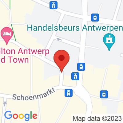 Interparking Eiermarkt Antwerpen