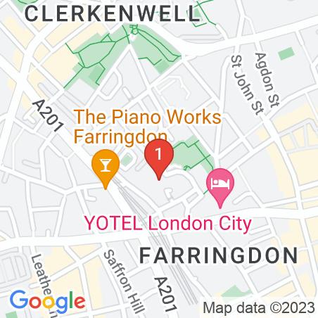 23 Clerkenwell Close, EC1R 0AA