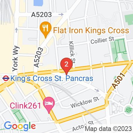 180/186 Kings Cross Road, WC1X 9DE