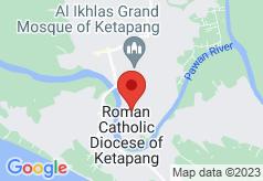 Borneo Emerald Hotel on map