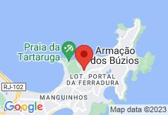 Bon Vivant Hostel Buzios on map