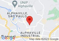Bourbon Alphaville Business Hotel on map