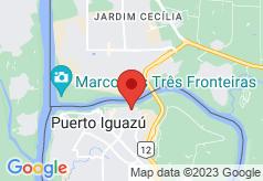 Iguazu Home on map