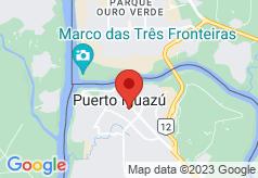 Loi Suites Iguazu on map