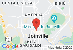 Bourbon Joinville Business Hotel on map