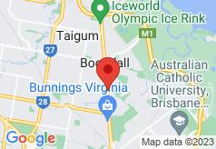 Brisbane International - Virginia on map