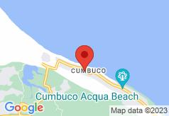 Hotel e Pousada Tropical Wind do Cumbuco on map