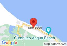 Pousada Dunas Do Cumbuco on map