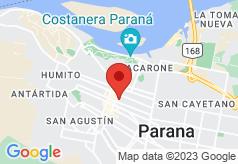 Parana Hostel on map