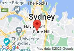 Bounce Sydney on map