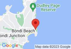 Bondi Beach Sandcastle Accommodation on map