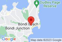 Surfside Bondi Beach on map
