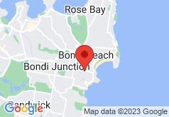 Bondi Shores Accommodation on map