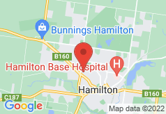 Boomers Guest House Hamilton on map